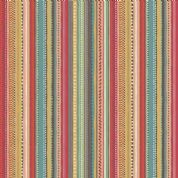Makower UK - Ellie - 6225 - Multicoloured  Dotty Stripe - 1313_T2 - Cotton Fabric